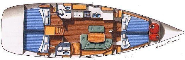 Oceanis 473 (Alboran XIX Sabor)  - 17