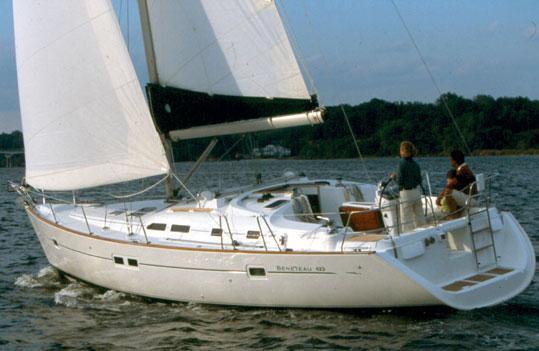Oceanis 423 R (ZANTE)  - 1
