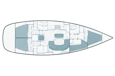 Oceanis 411 Clipper (ANA MARIA)  - 17