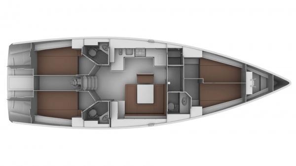 Bavaria Cruiser 45 (Annachiara)  - 5