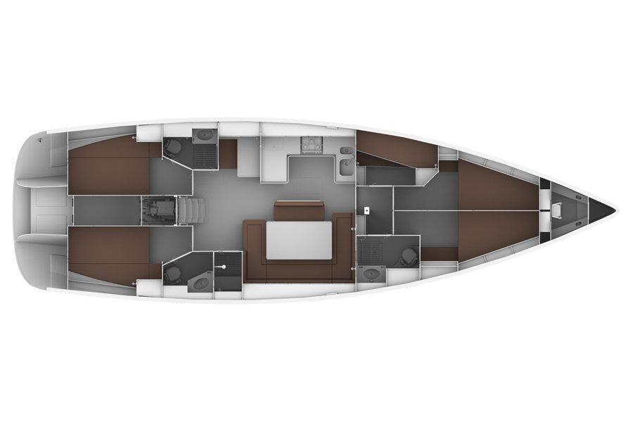 Bavaria Cruiser 50 (Giorgina)  - 0