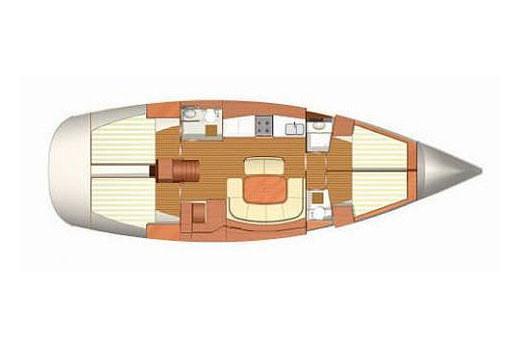 Dufour 455 Grand Large (Azzurra)  - 3