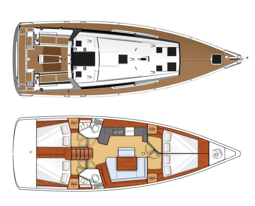 Oceanis 45 (NESKA II)  - 25