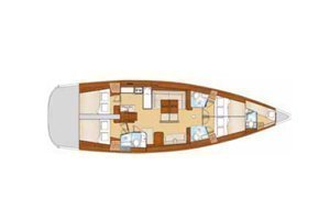 Oceanis 54 AC & GEN (MAISTRA)  - 22