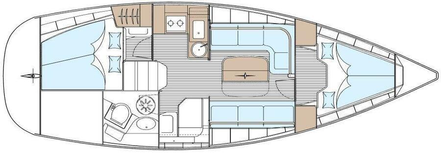Bavaria 33 Cruiser (Fei Jian)  - 15