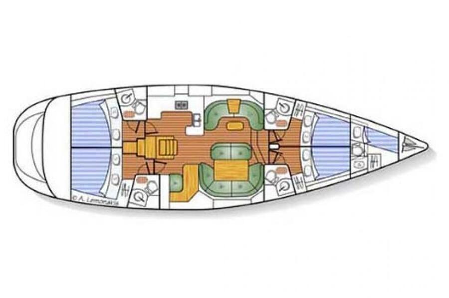 Sun Odyssey 54 DS (Sanja)  - 3