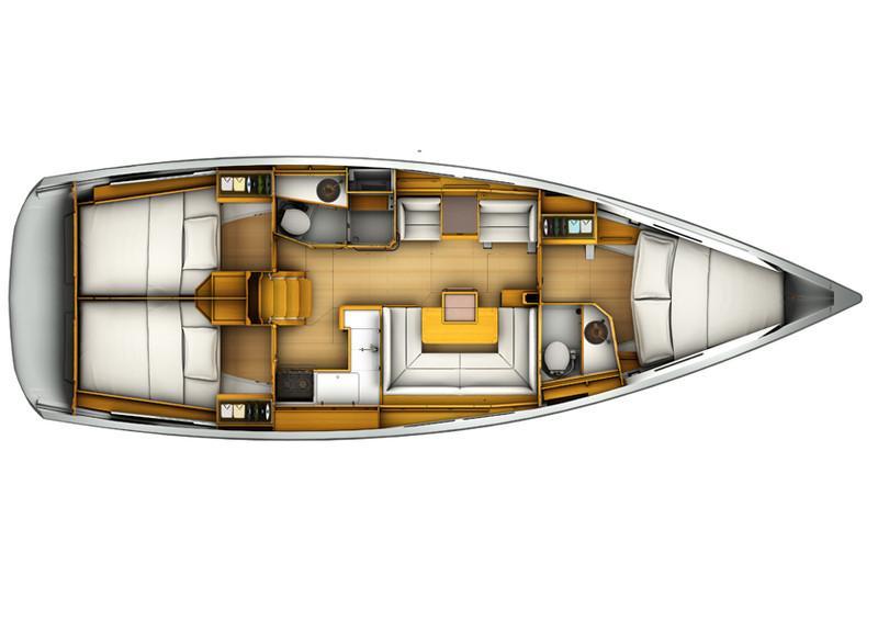 Sun Odyssey 409 (FRONSAC)  - 5