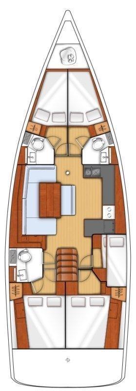 Oceanis 48 (EMMANUEL)  - 11