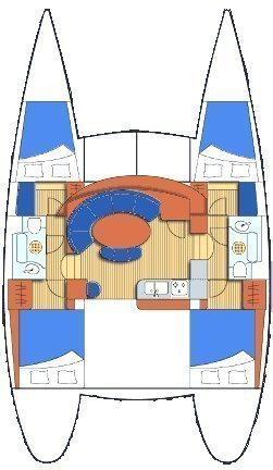 Lagoon 380 (Giulia)  - 2