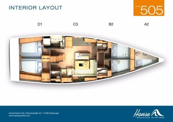 Hanse 505 AC & GEN (CAELAN OF LORNE)  - 0