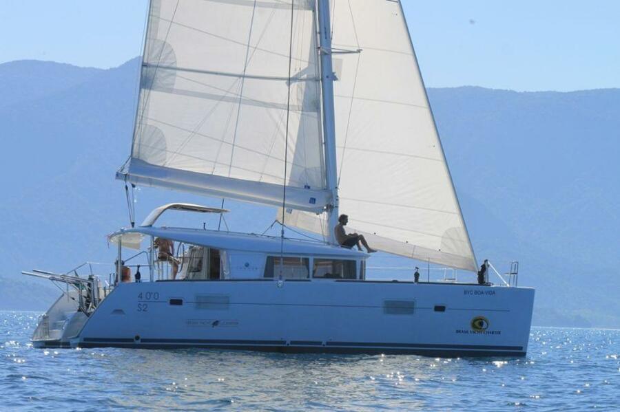 Lagoon 400 S2 with A/C (BYC BOA-VIDA)  - 0