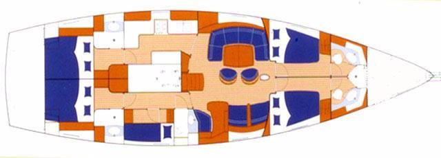 Beneteau 57 (SEA STAR I)  - 15