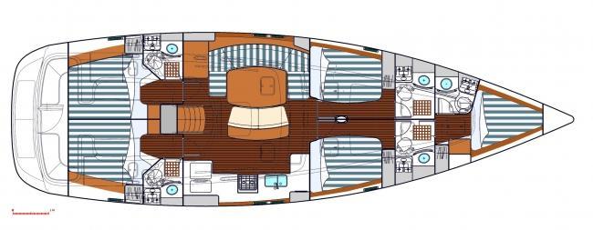 Oceanis 523 (MALENA)  - 19