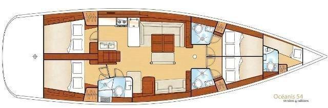 Oceanis 54 (Captain John)  - 5