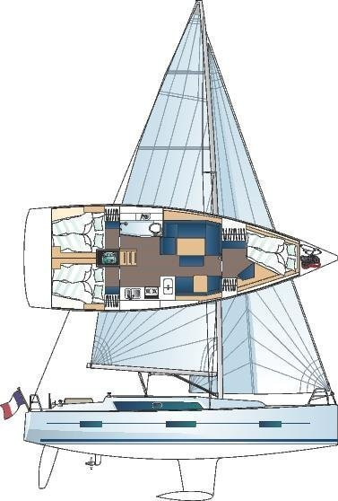Dufour 410 Grand Large (Stella)  - 7