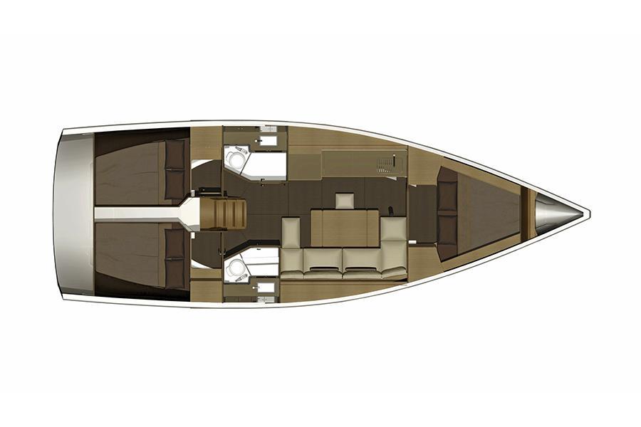 Dufour 382 Grand Large (SVETI IVAN)  - 15