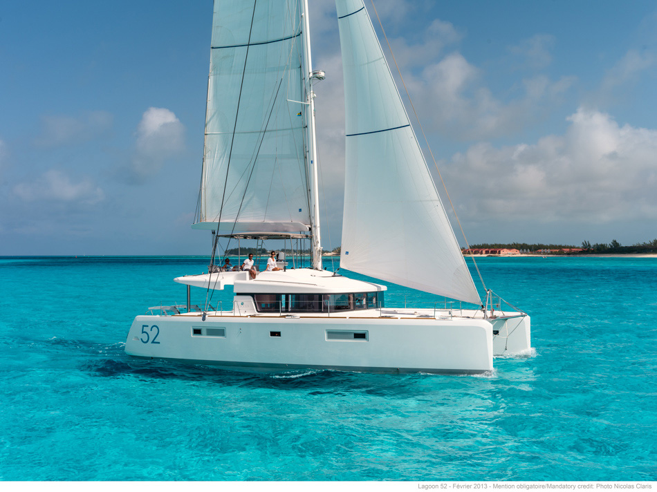 Lagoon 52 with watermaker & A/C - PLUS (WATTEAU)  - 0