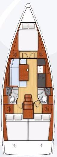 Oceanis 38 (Rusalka)  - 25