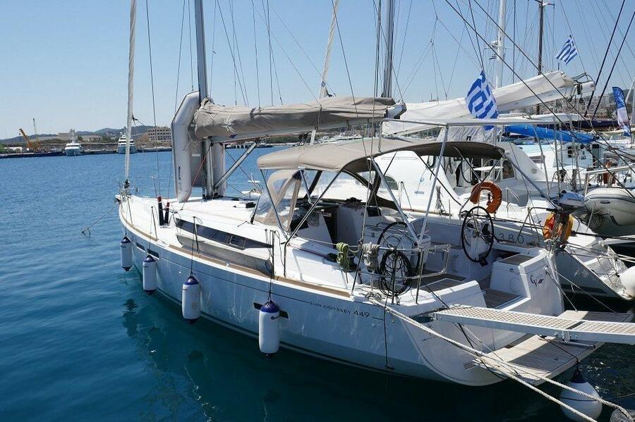 Sun Odyssey 449 (Airbender)  - 5