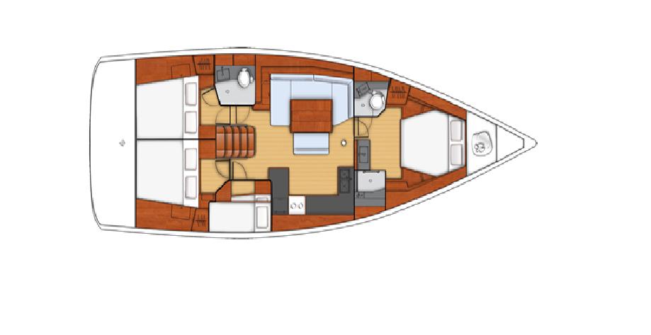 Oceanis 48 (Disa)  - 2