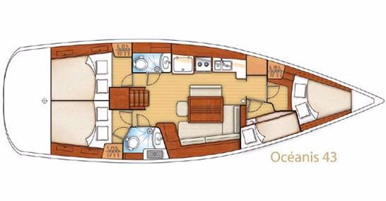 Oceanis 43 (Telma)  - 8