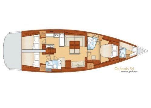 Oceanis 54 (Thidawaree)  - 5