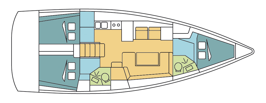 Oceanis 41.1 (LADY DAZE)  - 5