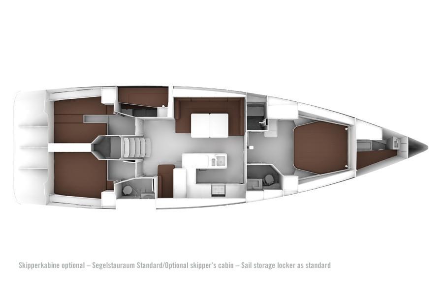 Bavaria Cruiser 56 (Miles)  - 2