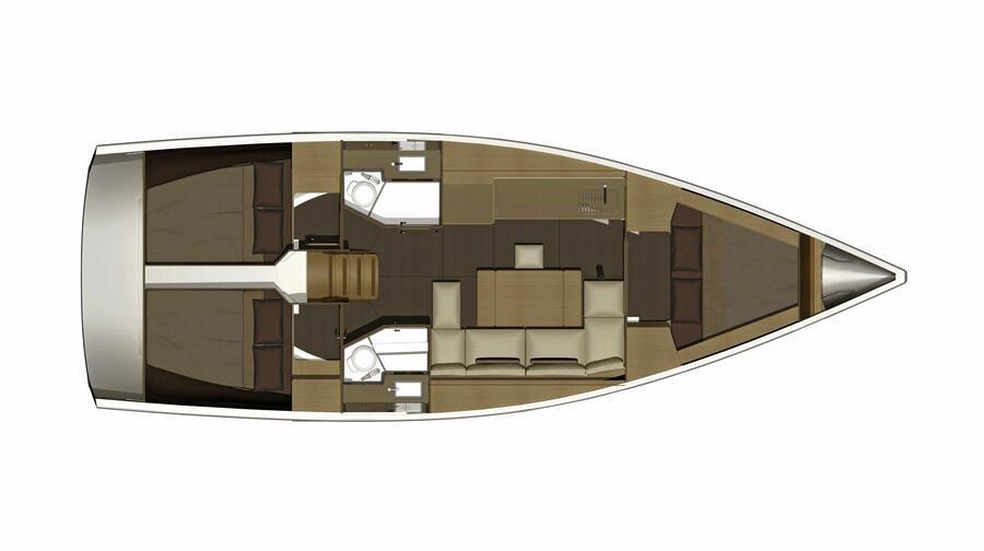 Dufour 382 Grand Large (Avanti)  - 7