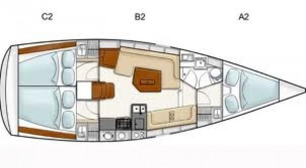 Hanse 385 (CAPRICCIO)  - 26