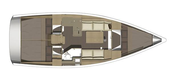 Dufour 350 (Mirtilla)  - 21