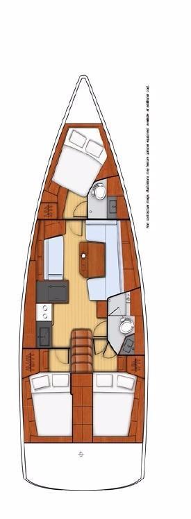 Oceanis 41.1 (Beneatha)  - 4