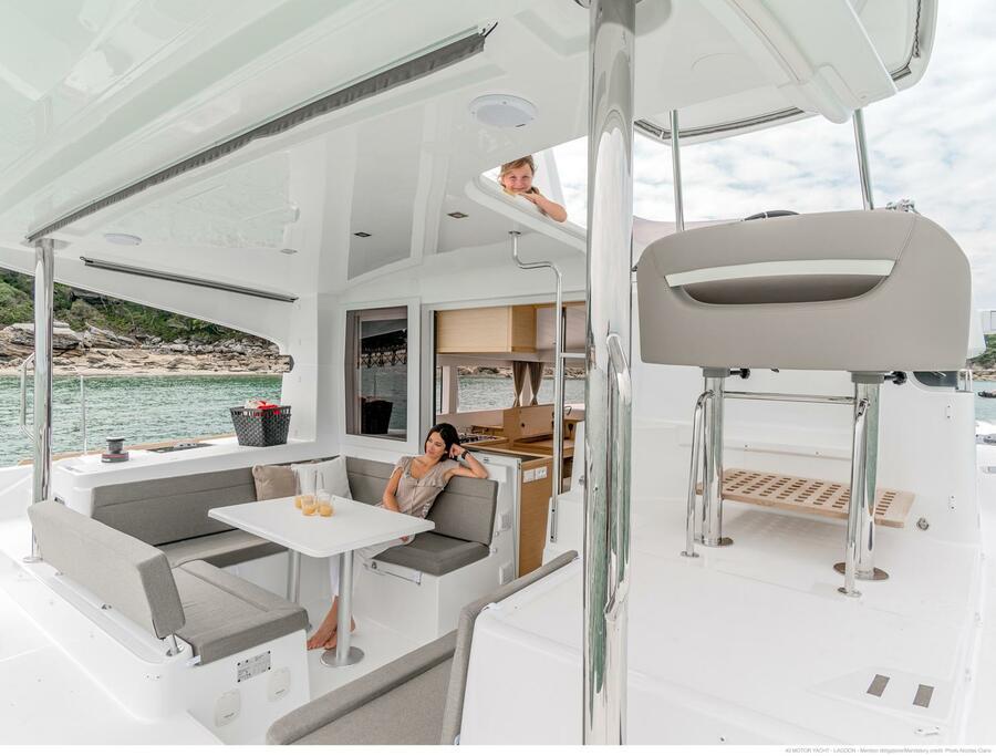 Lagoon 40 Power Catamaran (Lion of the Sea)  - 5