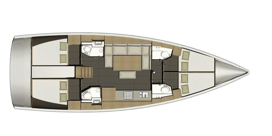 Dufour 460 Grand Large (Eva)  - 11