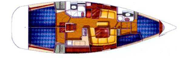 Sun Odyssey 43 (Veni I)  - 5