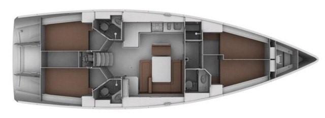 Bavaria Cruiser 45 (Saffron)  - 3