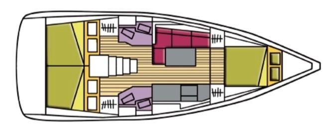 Oceanis 38.1 (Denebola I)  - 13