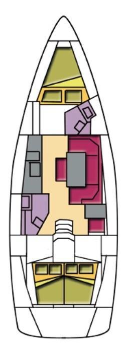 Bavaria Cruiser 41 (Sheratan)  - 12