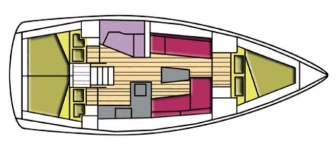 Bavaria Cruiser 37 (Menkar)  - 12