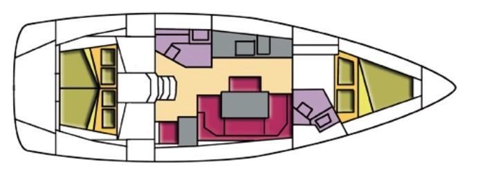 Bavaria Cruiser 41 (Alioth)  - 13