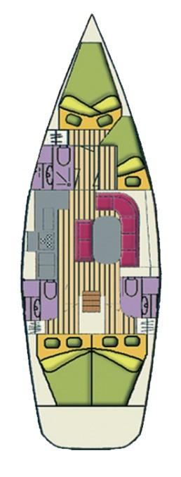 Oceanis 423 (Fomalhaut)  - 14