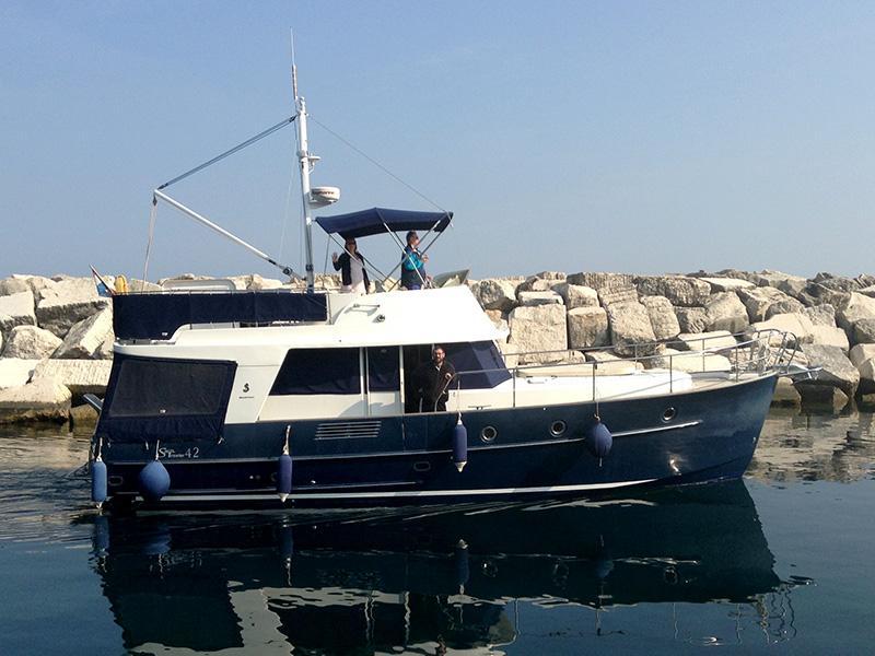 Beneteau Swift Trawler 42 (MOJA 3)  - 12