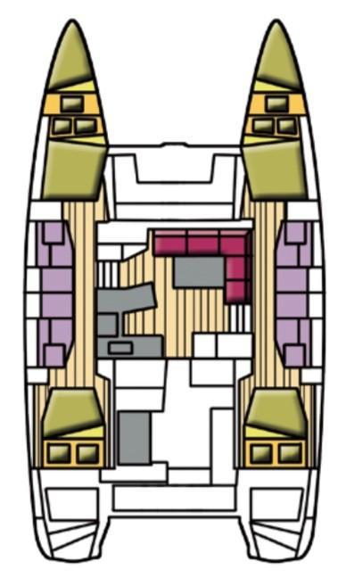 Lagoon 42 (Benetnasch II)  - 32