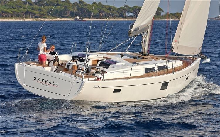 Hanse 455 (Wind Rose)  - 15