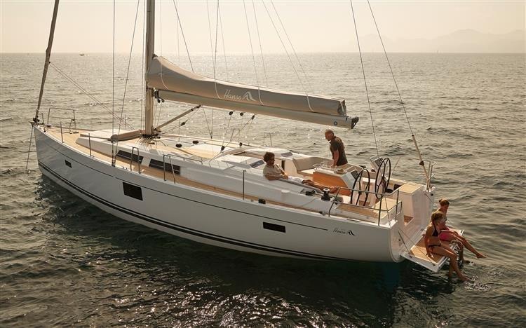 Hanse 455 (Wind Rose)  - 3
