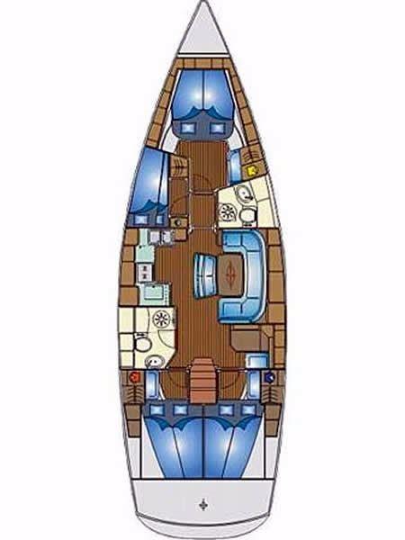 Bavaria 46 Cruiser (Reunion)  - 2