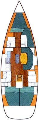 Oceanis 411 (Merak)  - 3