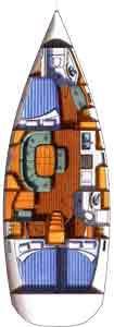 Oceanis 393 Clipper (Sabik)  - 4
