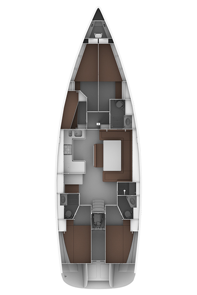 Bavaria Cruiser 50 (ROSA DEL MAR)  - 1