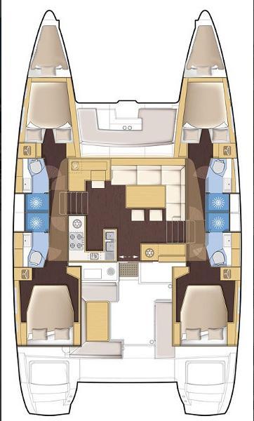 Lagoon 450 (MARK V)  - 3